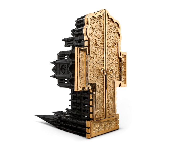 Chartres II (2009), Studio Job's bronze artwork-meets-cabinet. Image credit: Adrien Millot.