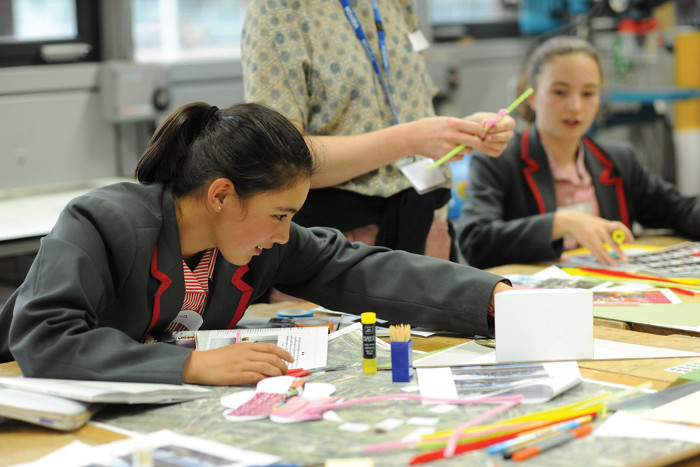 White Arkitekter's Places for Girls workshops with students from Mossbourne Academy in Hackney