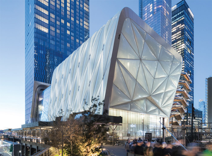 Best public-use project with private funding - Diller Scofidio + Renfro with Rockwell Group, US; The Shed, New York City, US