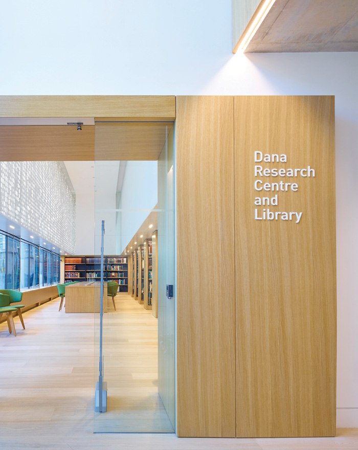 The Dana Research Centre and Library at the Science Museum, by Coffey Architects