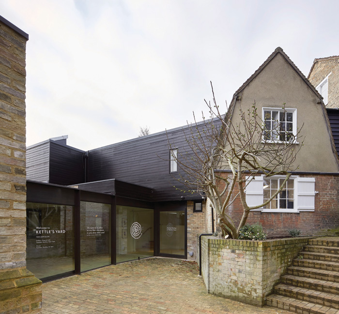 The newly reconstructed Kettle's Yard art gallery and museum in Cambridge. Image Credit: Hufton + Crow