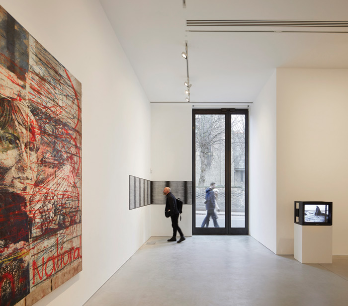 inside the gallery. Image Credit: Hufton + Crow