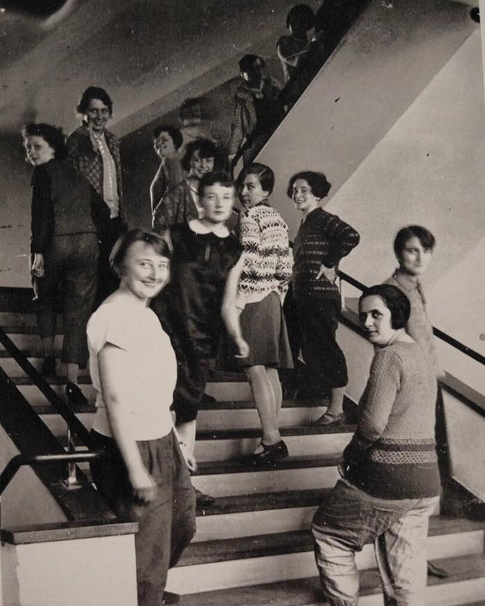 Oskar Schlemmer 1932 Bauhaus Stairway