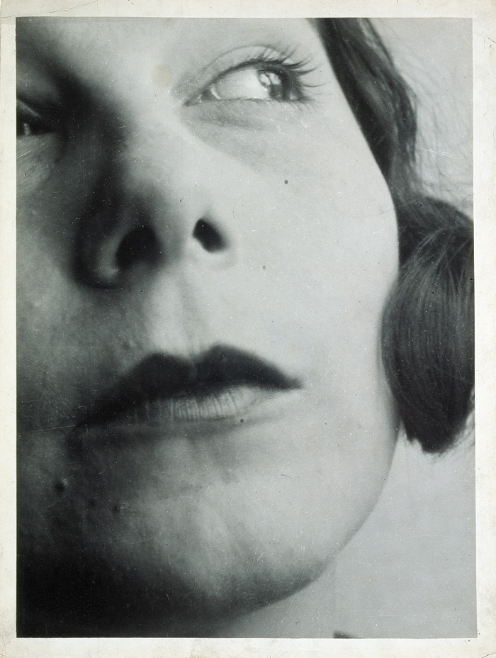 The actress Ellen Frank photographed by László Moholy-Nagy, from a series Moholy began in the late Twenties in which he pushed past conventions to create a new kind of portrait photography