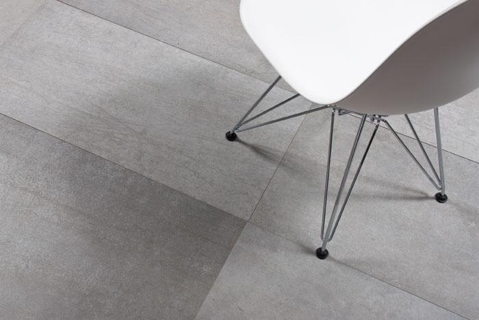 Large-format tile Concrete