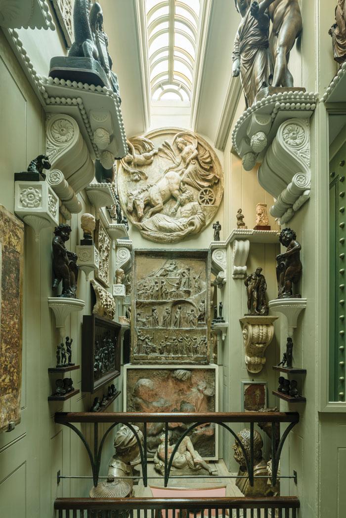 Soane Museum. Image Credit: Gareth Gardner