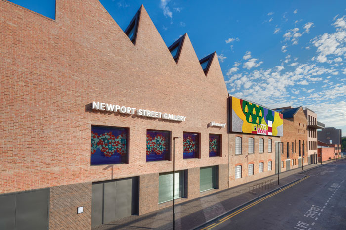 Newport Street Gallery, Vauxhall, London. Image Credit: Prudence Cuming
