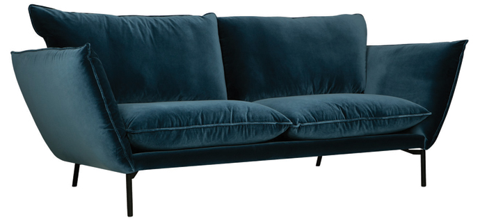 The Hugo settee designed by Ian Archer and manufactured by sITs