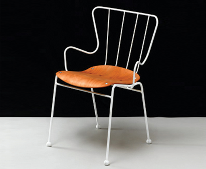 race Antelope Chair designed by Ernest race for race Furniture