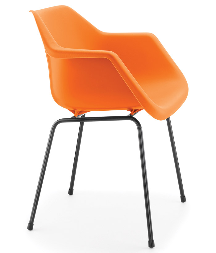 Robin Day Armchair, designed by Robin Day for Hille