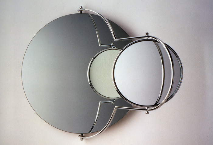 Orbit Mirror, designed by Rodney Kinsman for OMK 1965