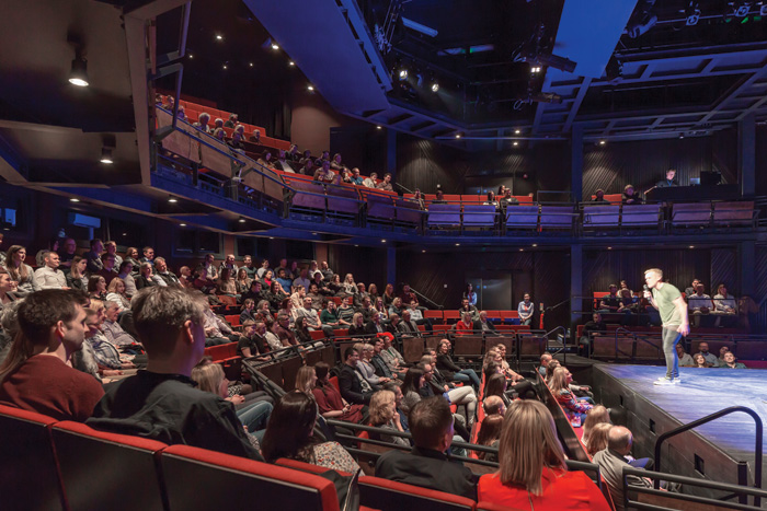 Leisure or Entertainment Venue Winner - Storyhouse, Chester by Bennetts Associates