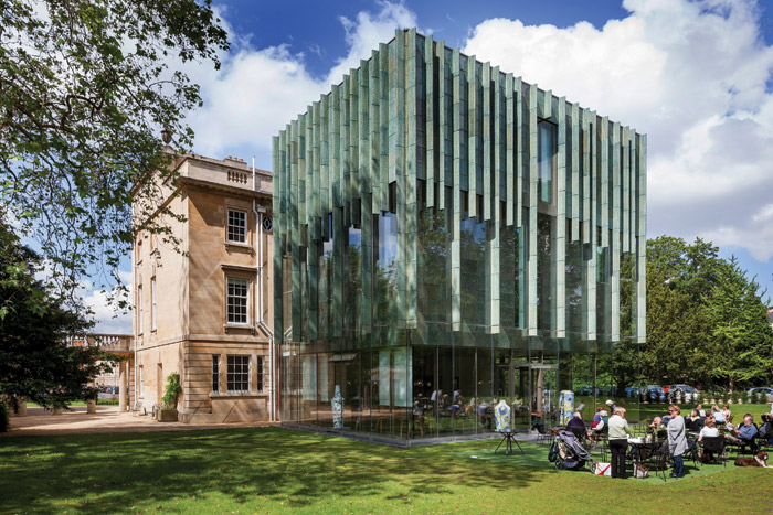 Holburne Museum - This building in Bath was the centre for years of argument about what a proposed extension (finally by Eric Parry Architects, 2011) should look like. The city's first public art gallery, it is home to fine and decorative arts