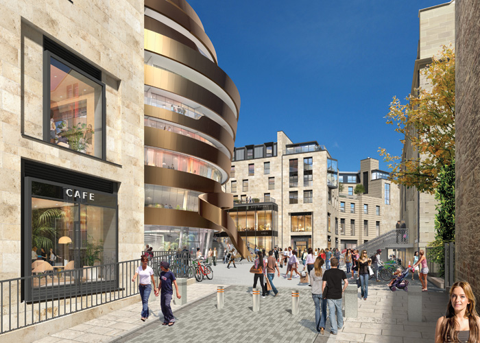 Jestico + Whiles is working on a new W Hotel for the St James development in Edinburgh