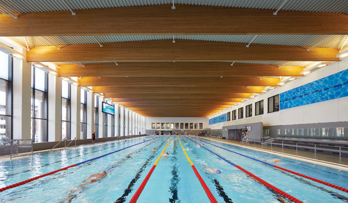 The sports complex has Birmingham's first Olympic-standard pool