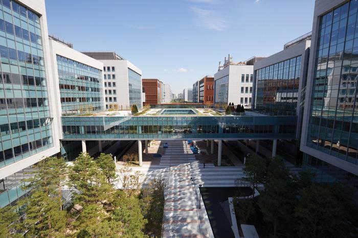 HOK-designed LG Science Park opens in Seoul