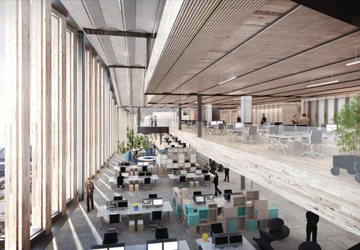 Google HQ. Image Credit: Philip Vile