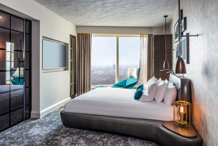 Guest rooms have breathtaking views