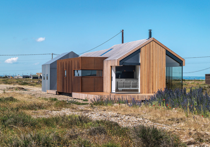 Pobble House sits in Britain's only desert, so designated due to the huge expanse of shingle