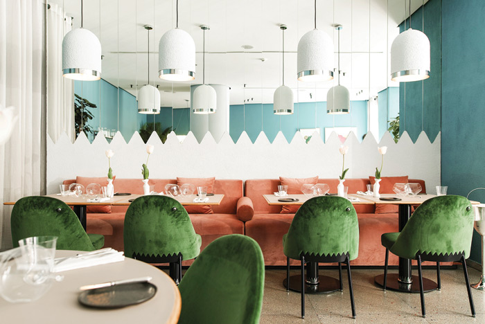 The fine dining Kaléo restaurant in Beirut, designed by David/Nicolas