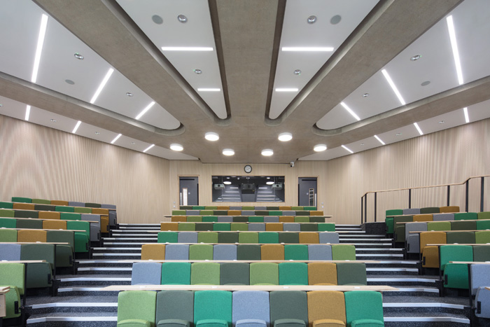 One of the building's lecture theatres