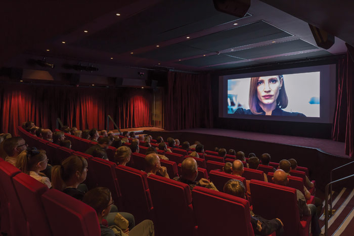 A 100-seater cinema is among new features now offered