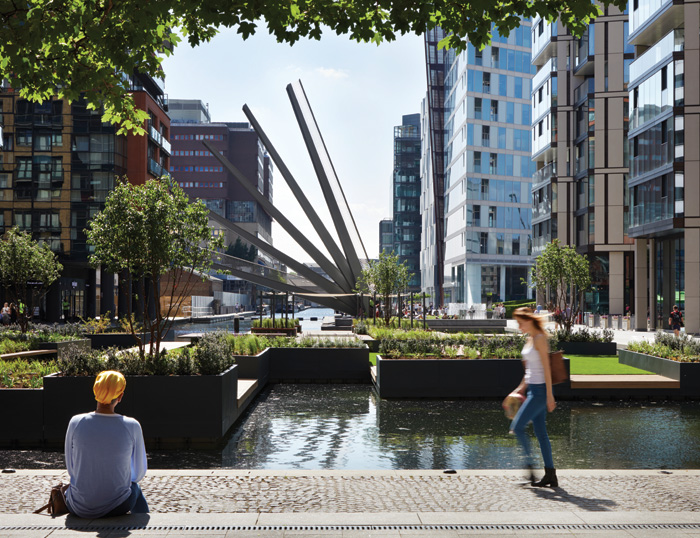 Floating Pocket Park. Photo Credit: Jackhobhouse