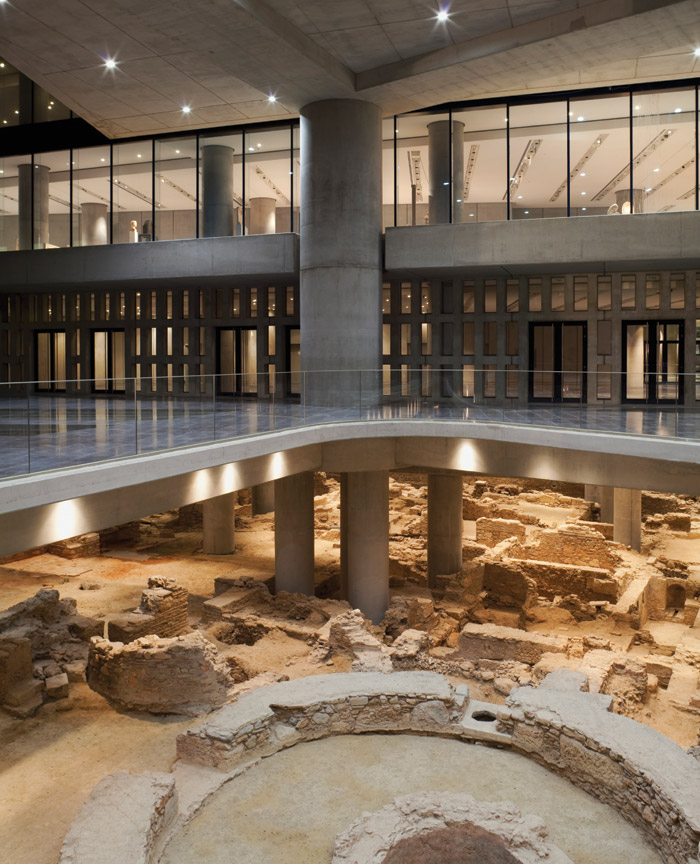 The museum was built to house all archaeological finds from the Acropolis hill. Image Credit: Peter Mauss