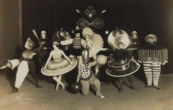 Testament to the joy of life at the Bauhaus were its theatrical productions