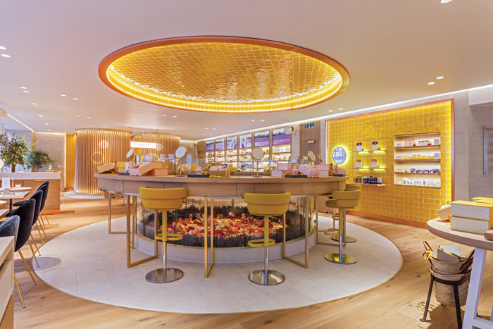 L'Occitane en Provence flagship store in London, designed by FutureBrand UXUS