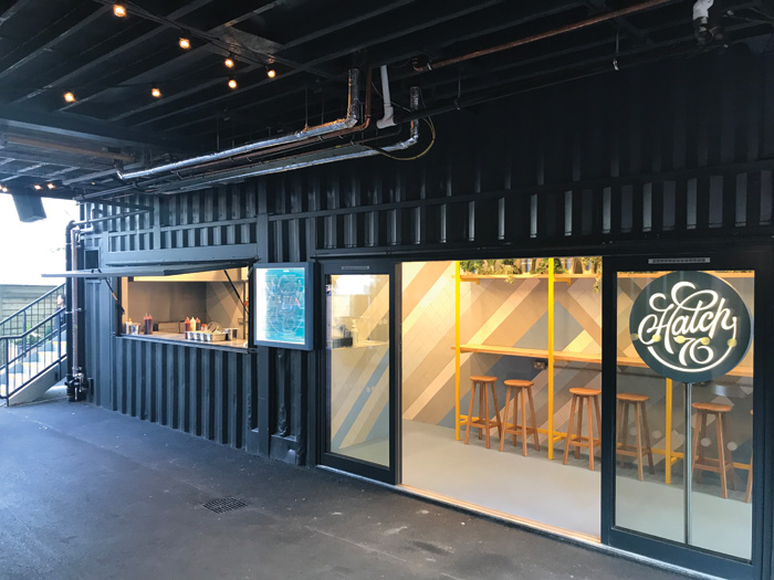 Shipping containers have been used to create a hub of food vendors and bars at Stack Newcastle. Could they be also used for housing?