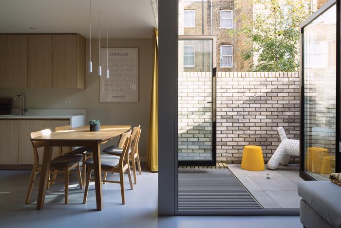 Views inside Wittering House, by gpad London