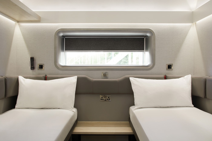PriestmanGoode has designed an 8.5 sq m hotel room for the new ZIP hotels