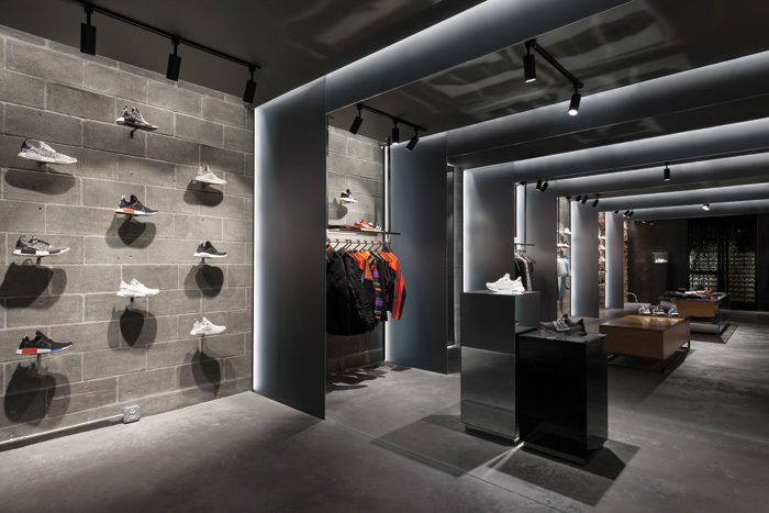 Adidas and streetwear brand Concepts' Boston store, The Sanctuary, by Sid Lee Architecture, winner of this year's FX Awards' retail category