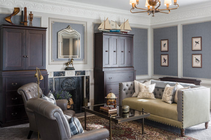 Goddard Littlefair designed around 30 suites and estate rooms, along with corridor spaces, for The Gleneagles Hotel as part of the first phase of redevelopment by the hotel's new owner Ennismore