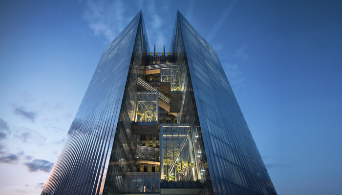 Taichung Commercial Bank Headquarters Project, Taiwan, by Aedas