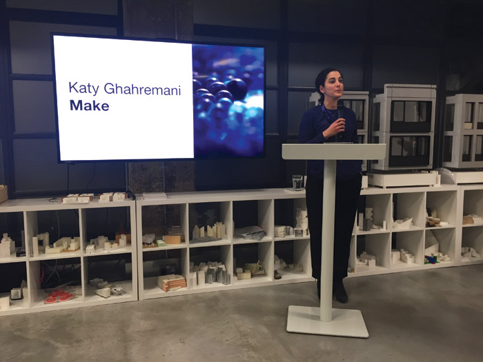 Katy speaks at a RIBA event for Architects for Change (she is co-chair)