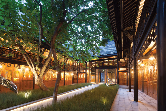 One of Make Architecture's projects, Temple House in Chengdu