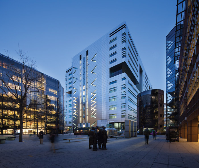 Using a light touch – Make's HQ building for UBS at 5 Broadgate, London