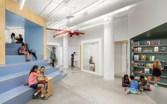 At the Manhattan AltSchool design is used to help support children's personal learning styles