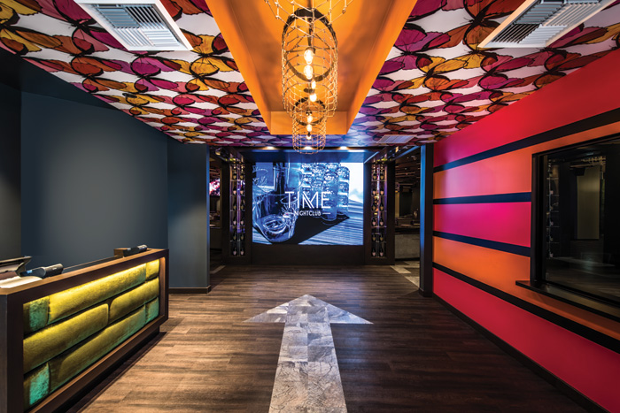 Time nightclub, Orange County, California
