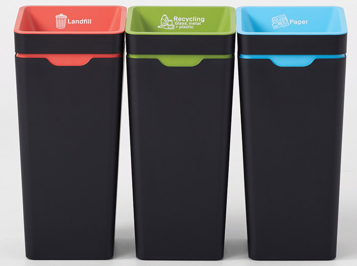 Bins from Method Recycling have been specified by several UK architects practices