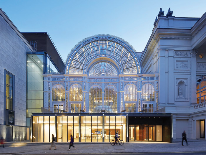 The Paul Hamlyn Hall, formerly known as the Floral Hall, is now being put to greater use with daytime workshops