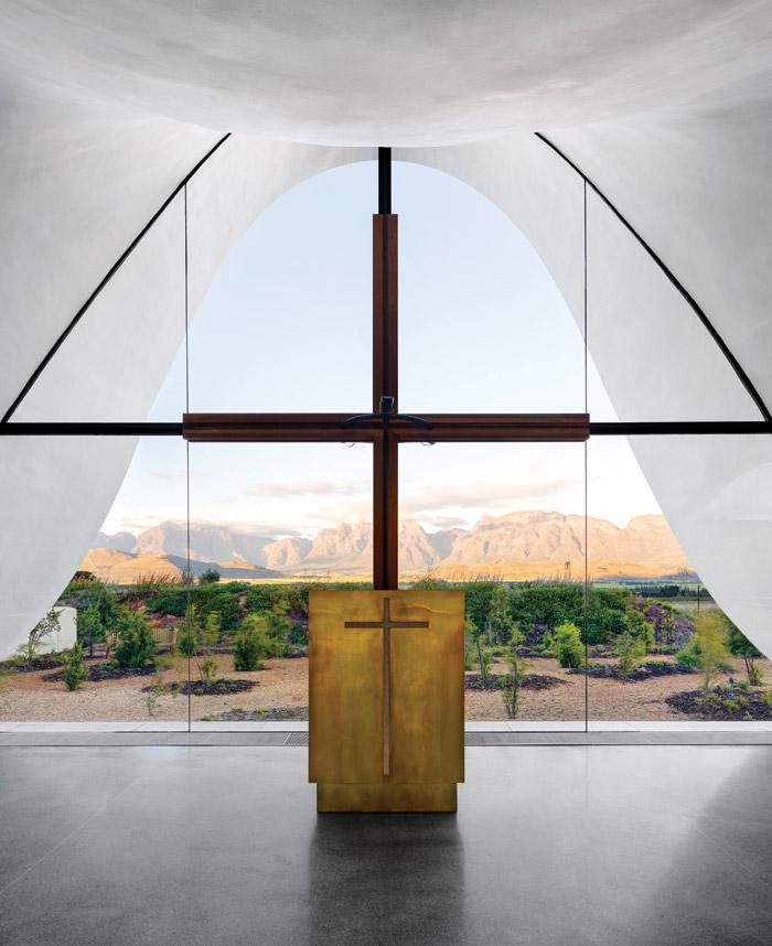 Bosjes Chapel from The Architect, Coetzee Steyn