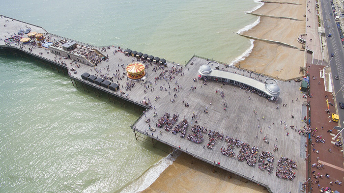 Seven years of dRMM working with the community on rebuilding Hastings Pier culminated in it winning last year's Stirling Prize. Image Credit: Hastings Pier Charity