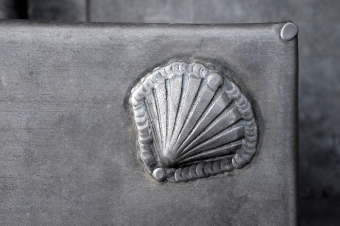 The shell logo of the company is being used more extensively in the refurbishment than previously