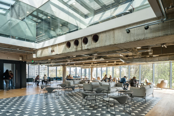 BDG's chief creative officer Colin Macgadie calls the communal areas 'great shared spaces'