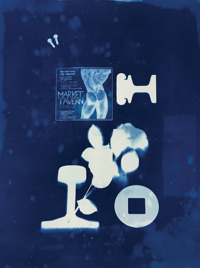 Wakefield's cyanotypes will be on display
