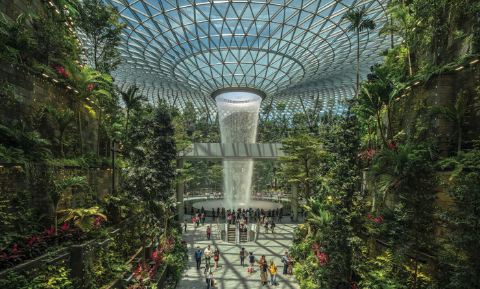 Safdie Architects' eco-friendly Jewel Changi Airport in Singapore
