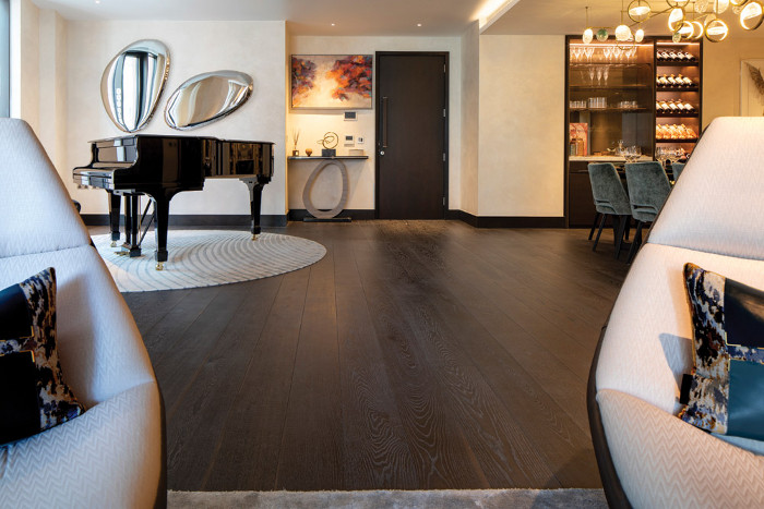 Hakwood's Coco flooring from the Colour Collection